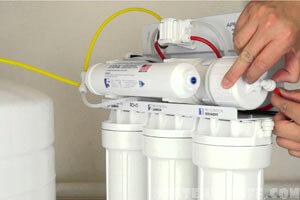 Установка фильтров воды Аквафор
